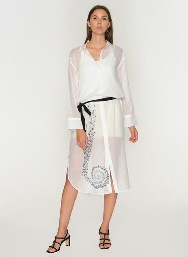 Sherbet Design Gömlek Beyaz